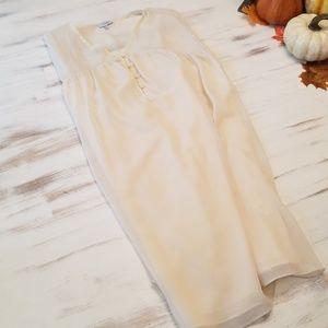 Tobi Cream Sleeveless Dress